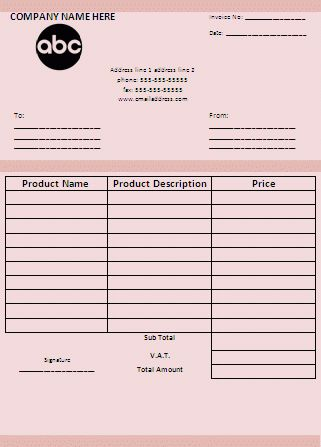 10+ purchase invoice - Budget Template Letter