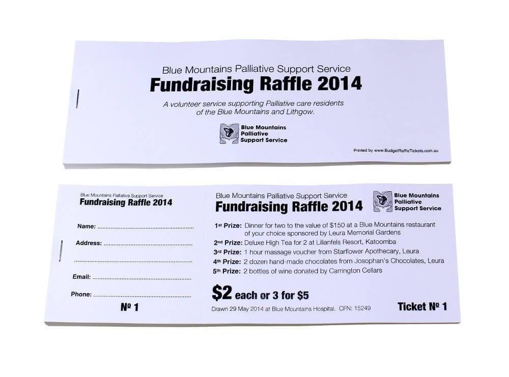 Sample Raffle Ticket Designs | Budget Raffle Tickets