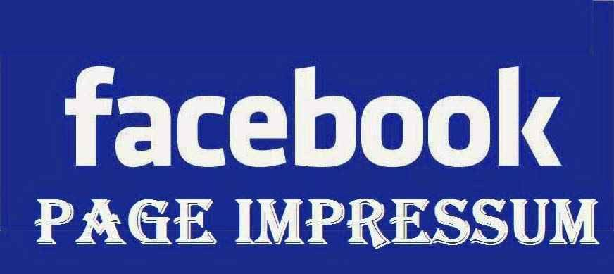Facebook Introduced Impressum in Facebook Page :Meaning & How to ...