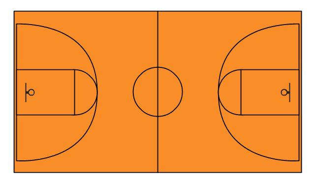 Basketball Court Diagram and Basketball Positions   Basketball ...
