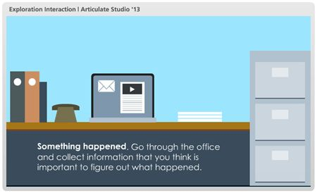 Here's a Free PowerPoint Template & E-Learning Interaction   The ...