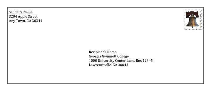 7 Best Images of Correct Envelope Format - Proper Business ...