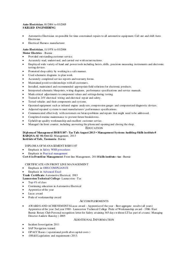 electrical engineer cv electrical engineering resumes seangarrette ...