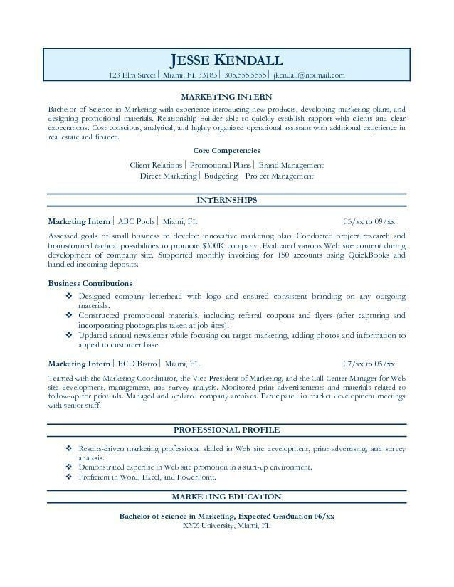 Resume Examples For Jobs. Professional Objective Resume,Examples ...