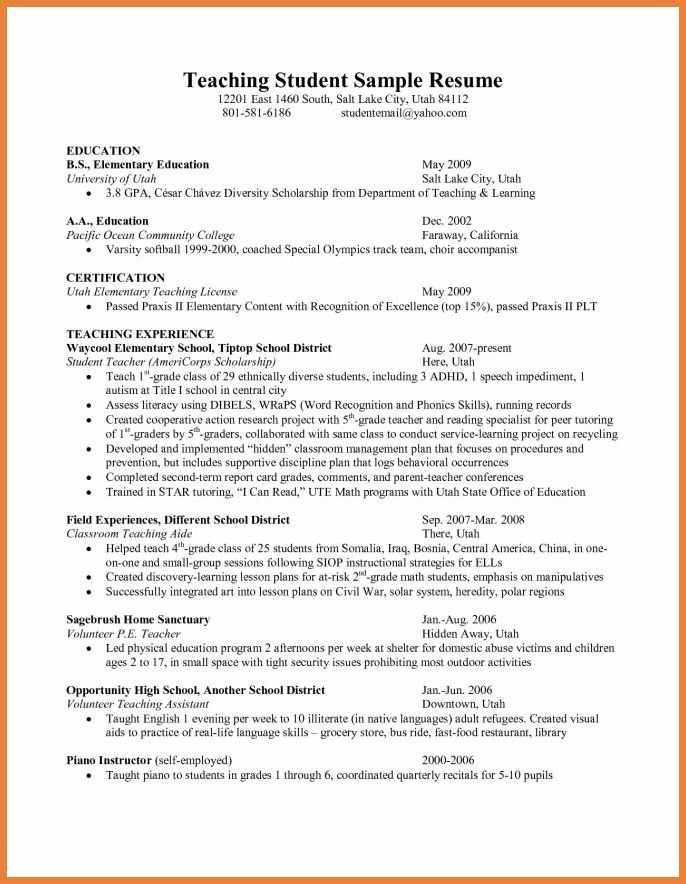 sample resume high school english teacher resume french. english ...