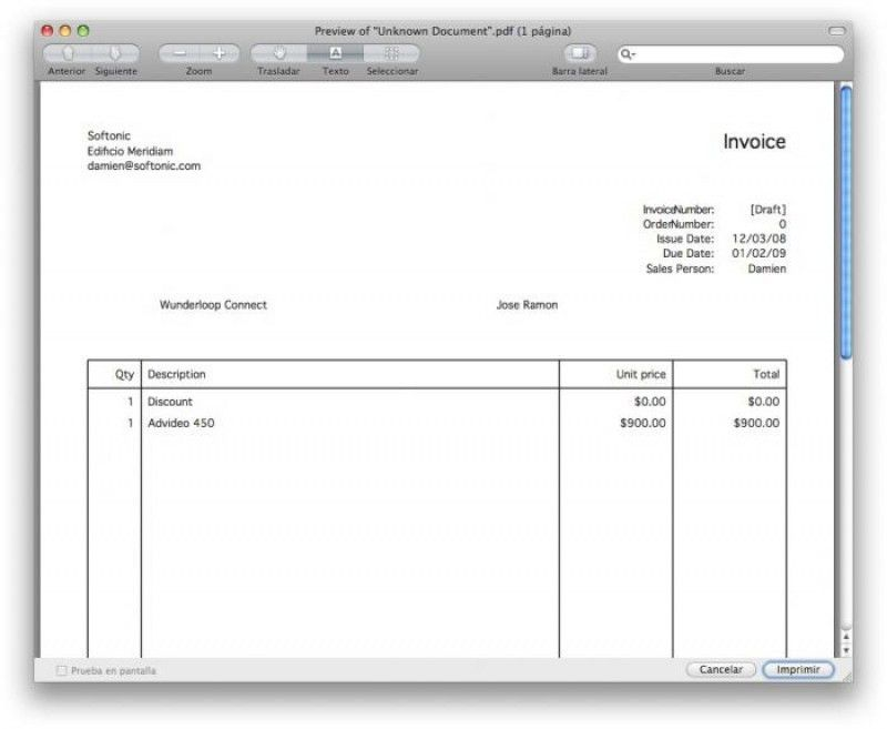 Download Invoice Template Free Download Mac | rabitah.net