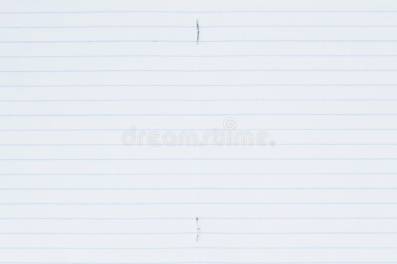 Lined Paper Page Stock Photos - Image: 32953833