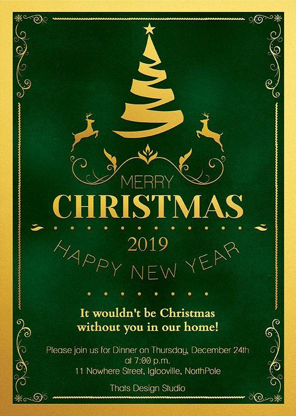 Christmas Invitation Template V1 | TDS