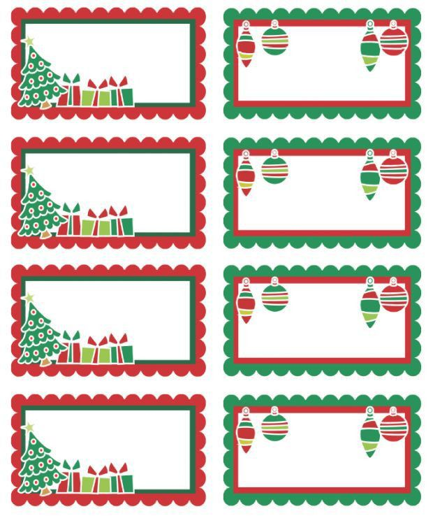 Best 25+ Christmas labels ideas on Pinterest | Christmas tags ...