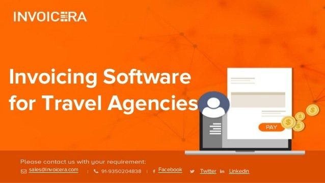 Invoicing software for travel agencies