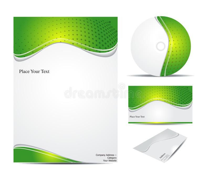 Abstract Corporate Id Template Royalty Free Stock Photo - Image ...