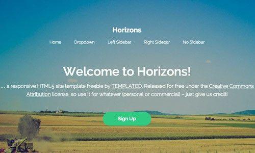 40 Free Beautiful HTML/CSS Templates | Naldz Graphics