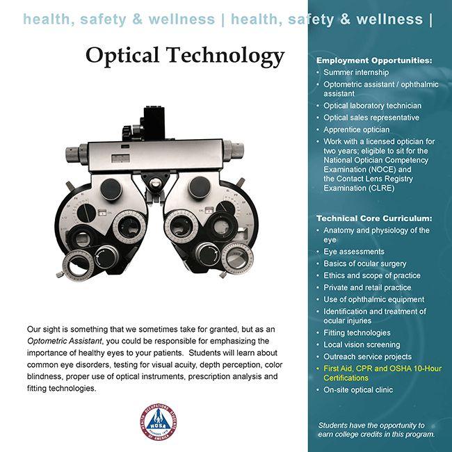 Optical Technology   Medina County Career Center