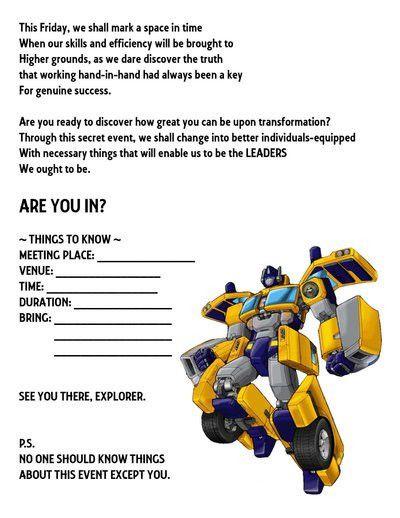 ECO TeamBuilding: Invitation_2 by metalangel18 on DeviantArt