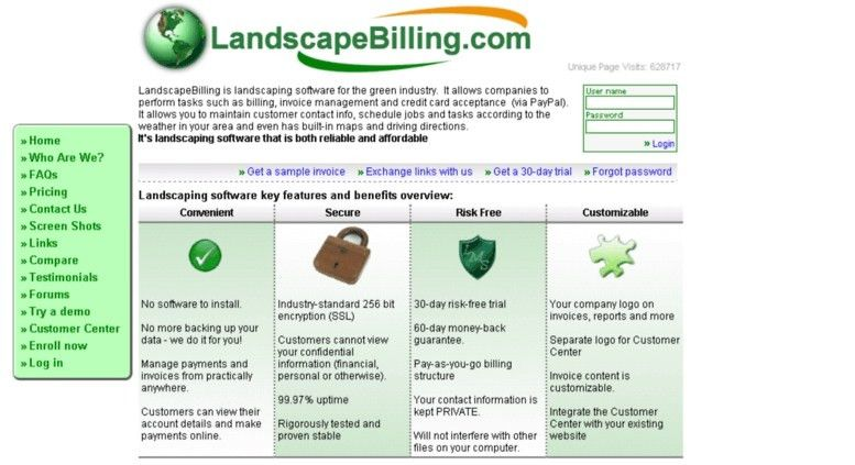 Access Landscapebilling. Landscaping Software: Billing for ...