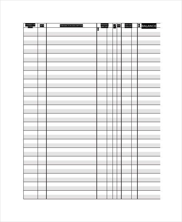 Ledger Paper Template - 7+ Free Word,PDF Document Download | Free ...