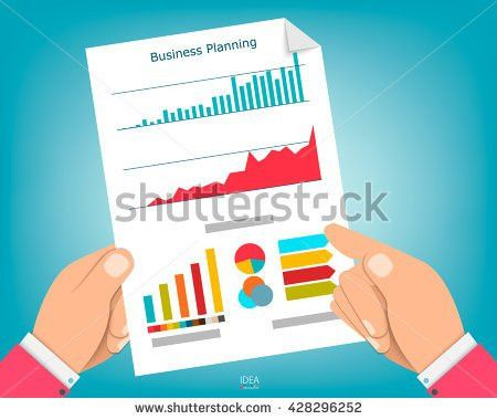 Paper Sheet Hands Magnifier Paperwork Consultant Stock Vector ...