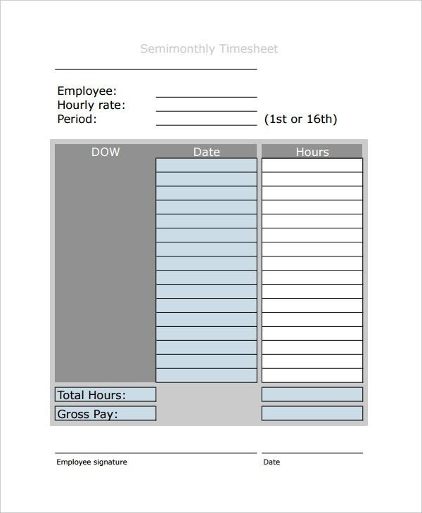 13+ Payroll Templates - Free Sample, Example, Format | Free ...