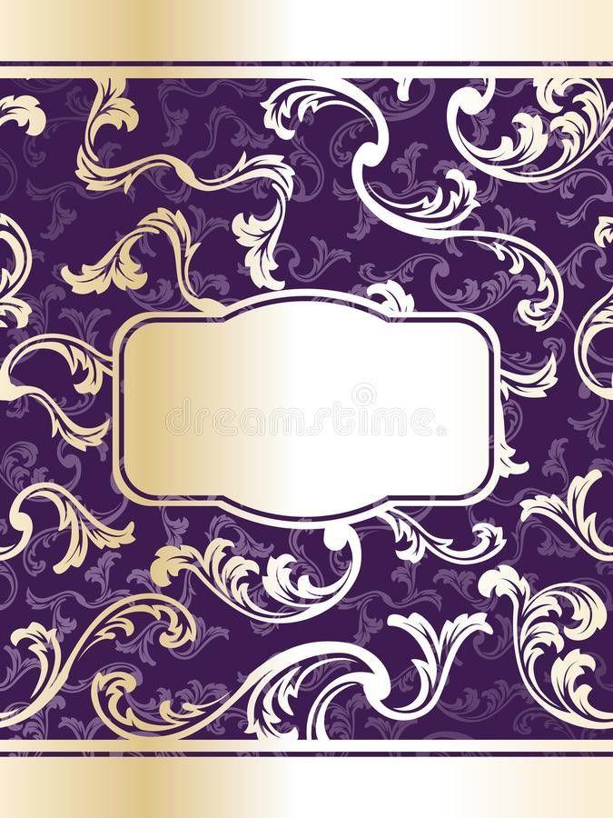 Elegant Wine Label Template Stock Photos - Image: 10468223