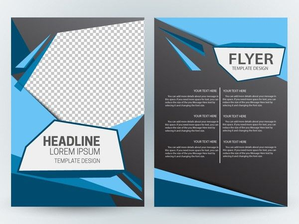 Magazine layout design template free vector download (13,338 Free ...