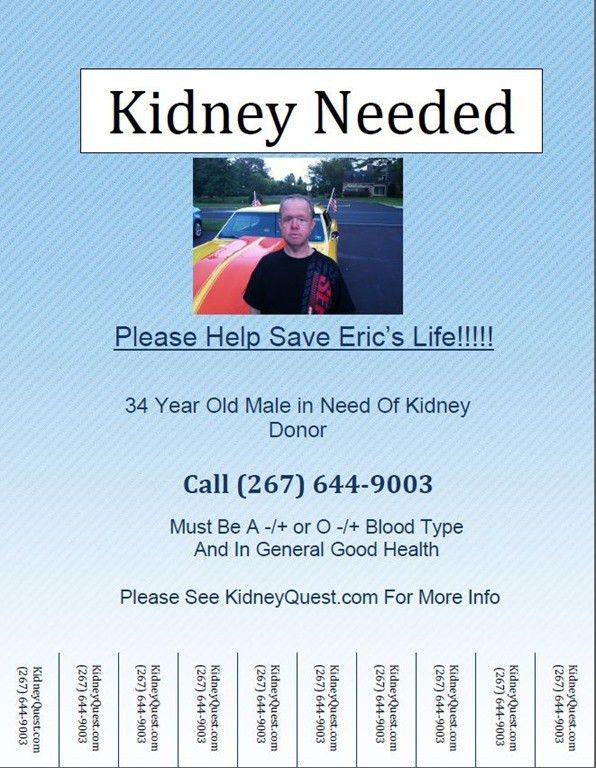 Find a kidney donor–Flyers | Real Numeracy