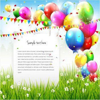 Free vector birthday card free vector download (12,826 Free vector ...