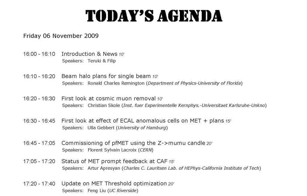 Sales Meeting Agenda Sample Good Faith Agreement Inventory Of A ...