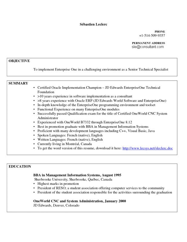 Home Design Ideas. related post of resume examples programmer ...
