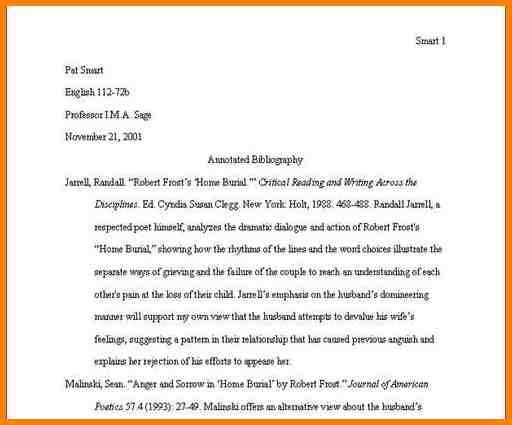 8+ annotated bibliography example harvard style | Annotated ...