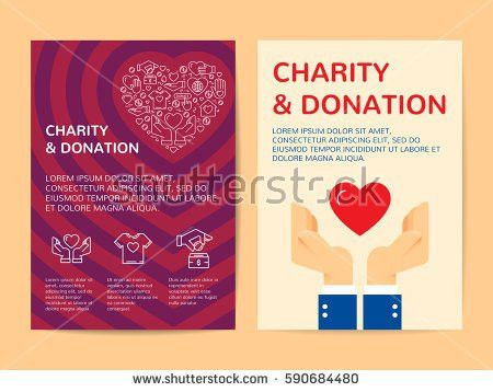Charity Donation Banner Design Template Vector Stock Vector ...
