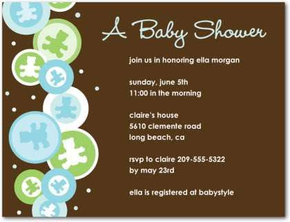 Samples Of Baby Shower Invitations Wording | THERUNTIME.COM