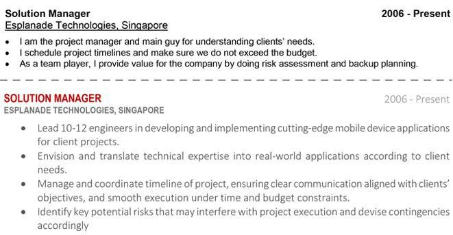 How to Write A Resume – Singapore Edition | ResumeWriter.SG