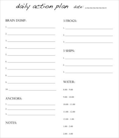 Day Planner Template - 9+ Free PDF Documents Downloads | Free ...