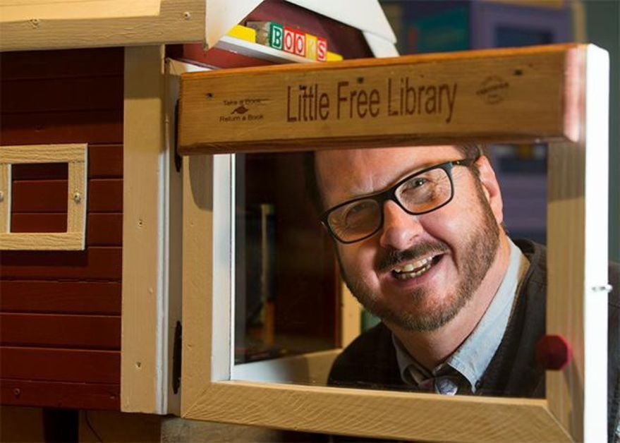 Video: Little Free Libraries co-founder Todd Bol