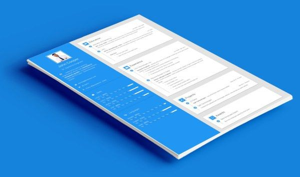 Resume Templates- Online Resume Builder: PDF CV, Personal website