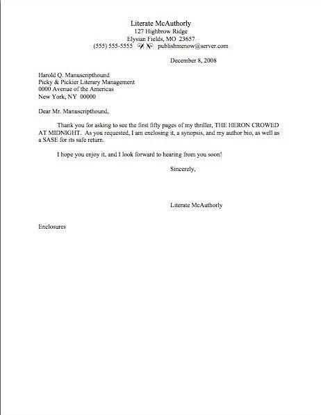 Brief Cover Letter Example | The Best Letter Sample
