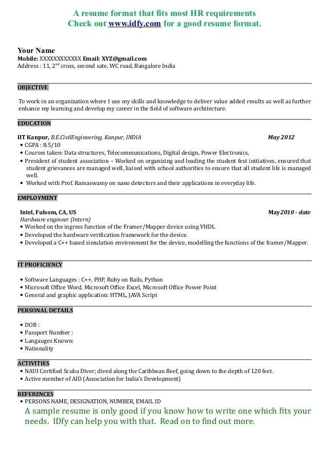 What Is A Good Resume Title - cv01.billybullock.us