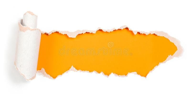 Paper Hole With Torn Edges Design Template Stock Photos - Image ...
