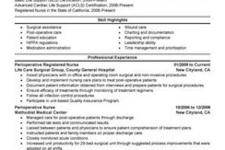 Emergency Rn Resume Examples - Reentrycorps