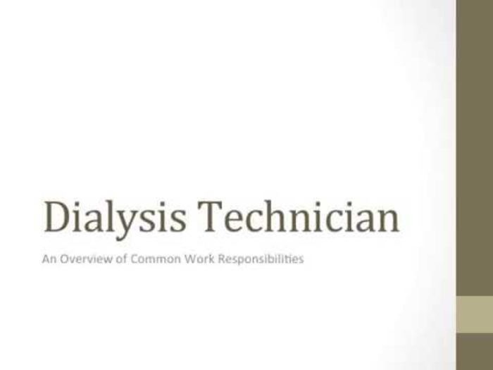 11 best Dialysis Technician images on Pinterest | Dialysis, Job ...