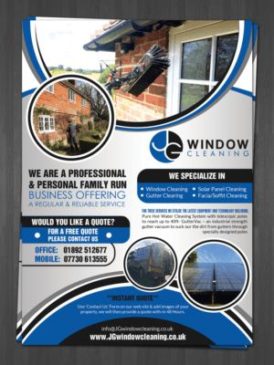 Gutter Cleaning Flyers - Flyer Design Design 10627585 Submitted To ...