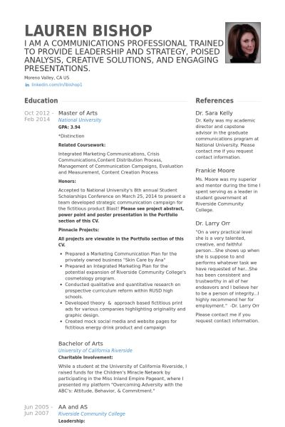 Substitute Teacher Resume samples - VisualCV resume samples database