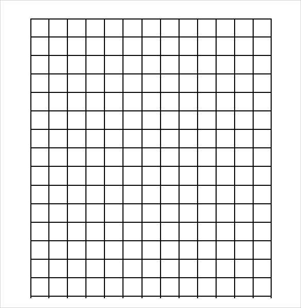Sample Half Inch Graph Paper - 6+ Documents in PDF, Word