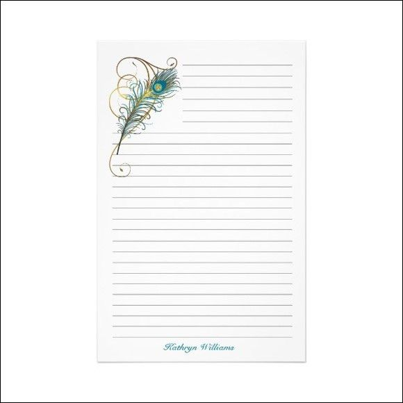 7 Free Lined Paper Templates - Excel PDF Formats