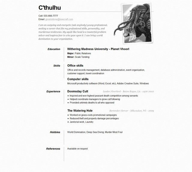 Ingenious Ideas Cv Resume Example 2 Free CV Examples Templates ...