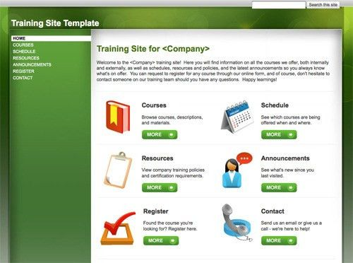 10 Handy Web Templates from Google Sites | Practical Ecommerce