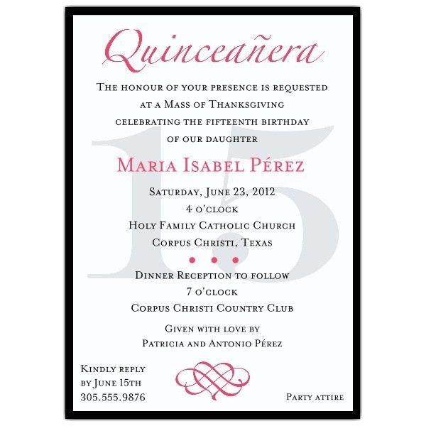 Quinceanera Invitations Templates - Themesflip.Com