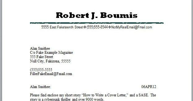 Cover Letter Journal Submission Manuscript Submission Cover Letter ...