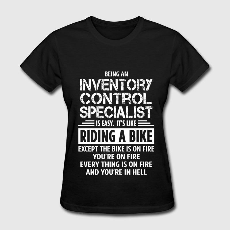Inventory Control Specialist T-Shirt   Spreadshirt
