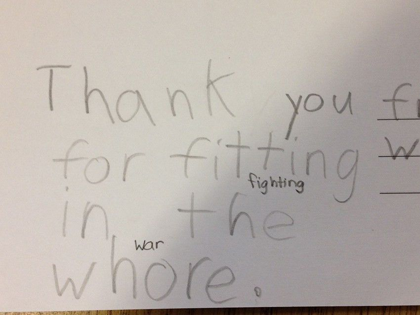 11 hilarious letters from kids to soldiers